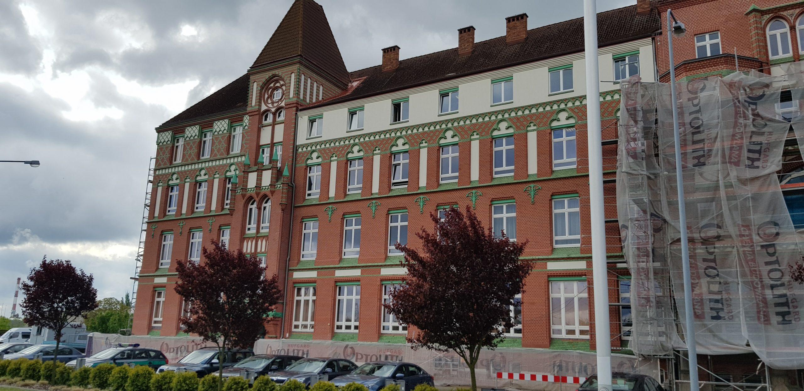 budynek zarząd portów