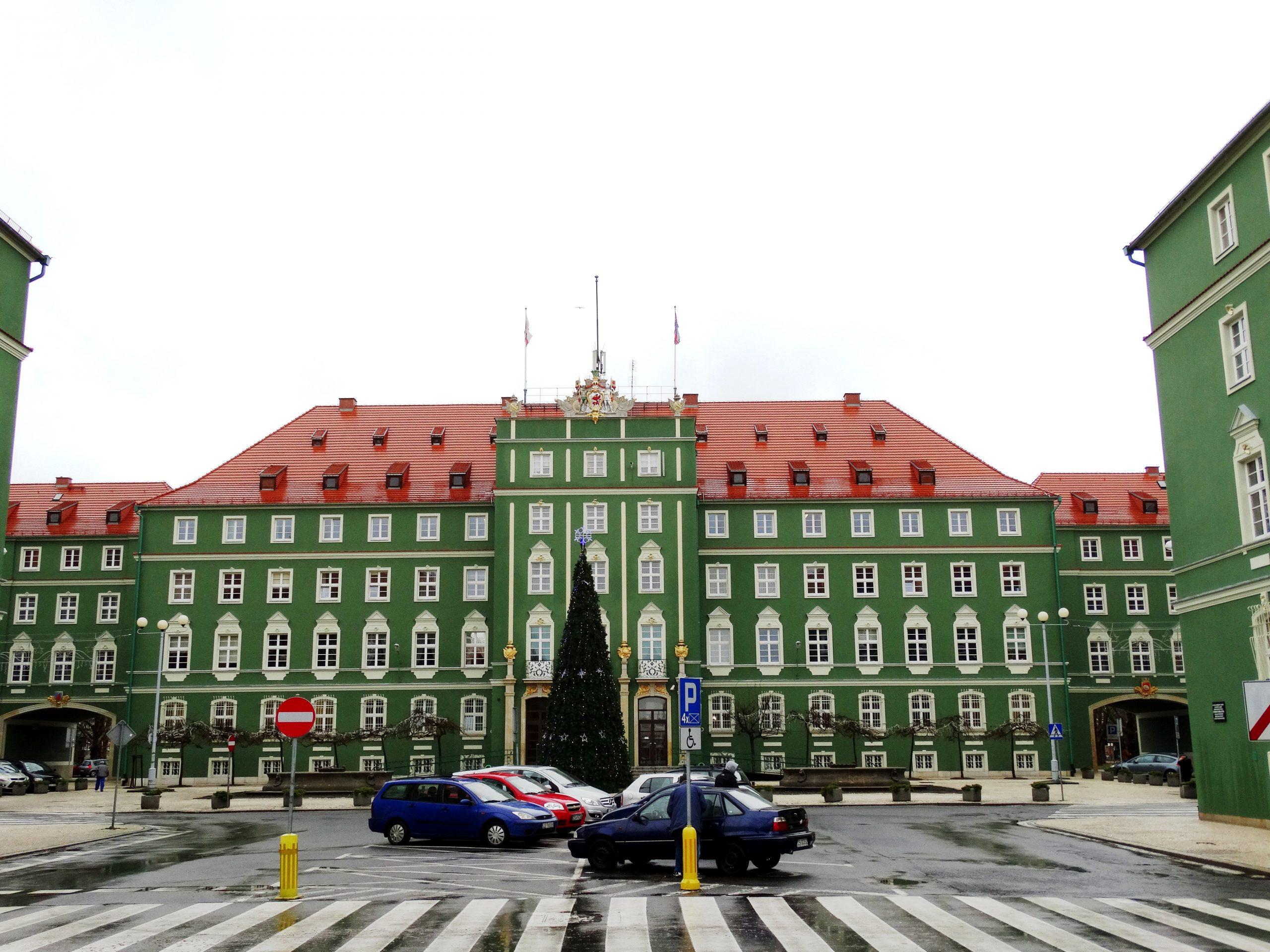 elewacja urząd miasta szczecin